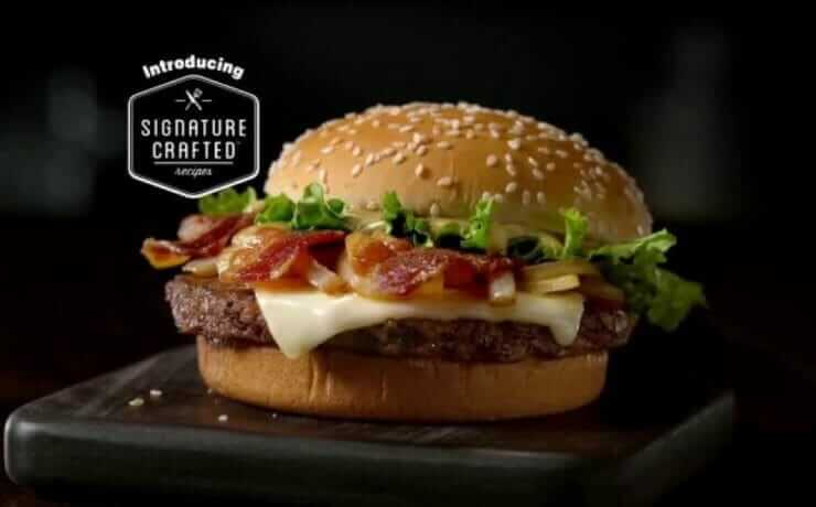 Signature Crafted Sandwiches Mcdonald S