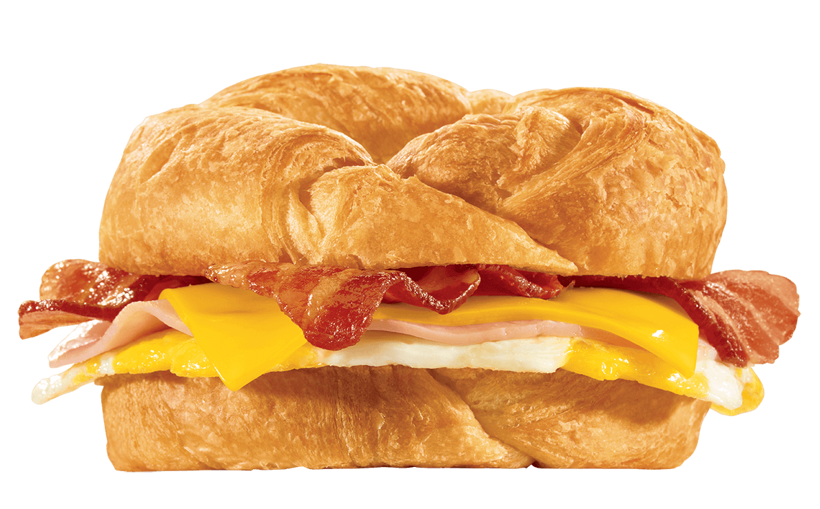 15 Meals At Jack In The Box For 500 Calories Or Less | Supreme Croissant | FastFoodMenuPrices.com
