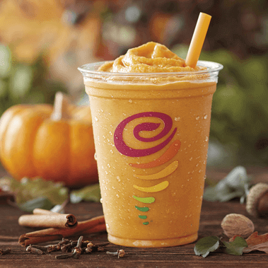 9 Binge-Worthy Fast Food Sweets For The Fall | Pumpkin Smash Smoothie | FastFoodMenuPrices.com