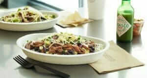 12 Healthy Fast Food Options | Chipotle Bowl | Fast Food Menu Prices.com