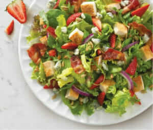 Wendy's Summer Salad | Gluten-Free Fast Food Options | Fastfoodmenuprices.com
