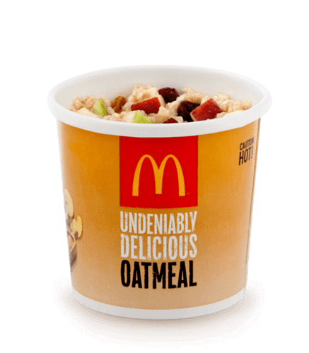 8 McDonald's Healthy Choices | Fruit and Maple Oatmeal | Fastfoodmenuprices.com
