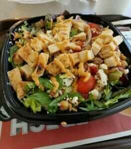12 Healthy Fast Food Options | Wendy's Mediterranean Salad | Fast Food Menu Prices.com