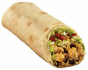 12 Healthy Fast Food Options| Taco Bell Burrito Supreme | Fast Food Menu Prices.com