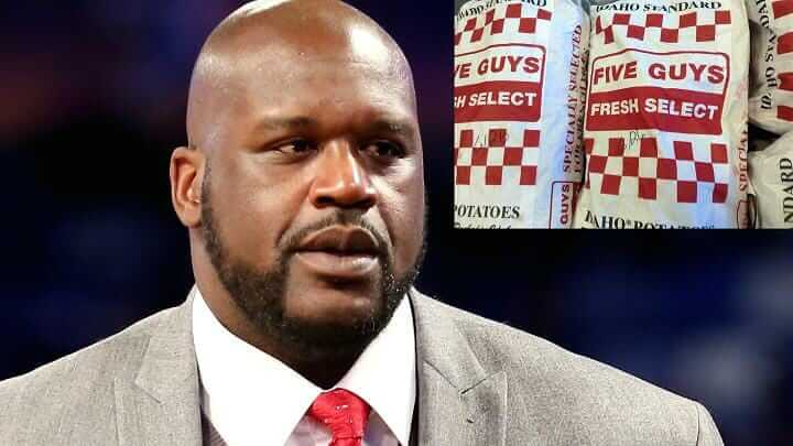 30 Surprising Fast Food Facts You Never Knew About Your Favorite Restaurants   Shaq Five Guys   FastFoodMenuPrices.com