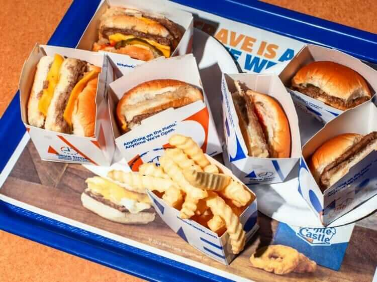 White Castle is a Fast Food Restaurant Open On Thanksgiving Day