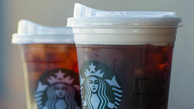 McDonald's and Starbucks Join Forces To Eliminate Plastic Straws | Starbucks New Cups | FastFoodMenuPrices.com