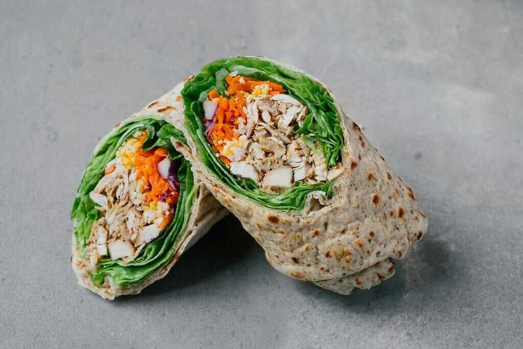 Top 11 Low-Calorie Fast Food Options | Chick Fil A Grilled Cool Wrap | FastFoodMenuPrices.com