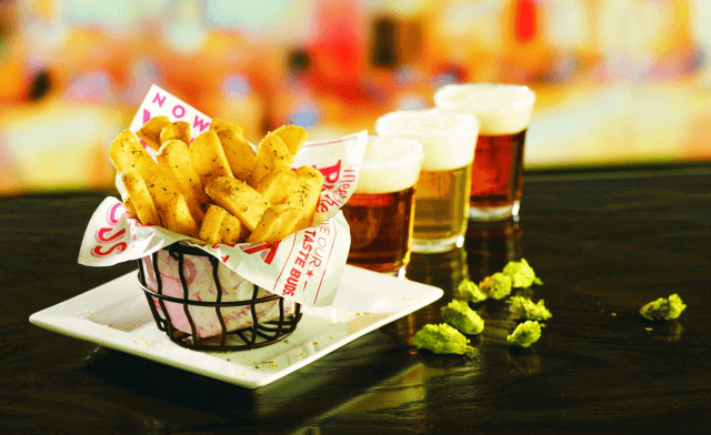 Red Robin Launches Hop-Salt Fries | Basket of Fries | FastFoodMenuPrices.com
