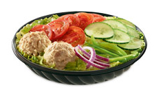 10 Keto-Friendly Fast Food Options | Subway Tuna Salad | FastFoodMenuPrices.com