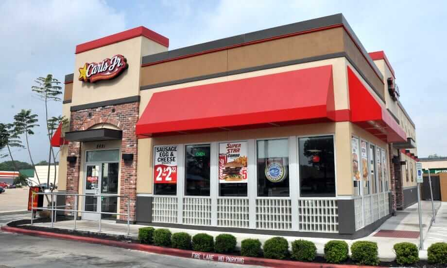 The Top 10 Fastest Drive-Through Restaurants in America | Carl's Junior | FastFoodMenuPrices.com