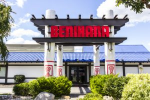 Benihana Outside