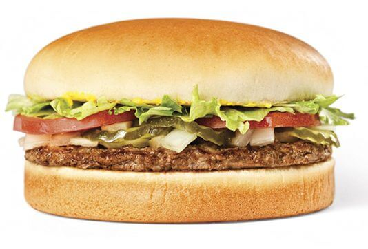 14 of the Best Fast Food Burgers | Whataburger Original | FastFoodMenuPrices.com