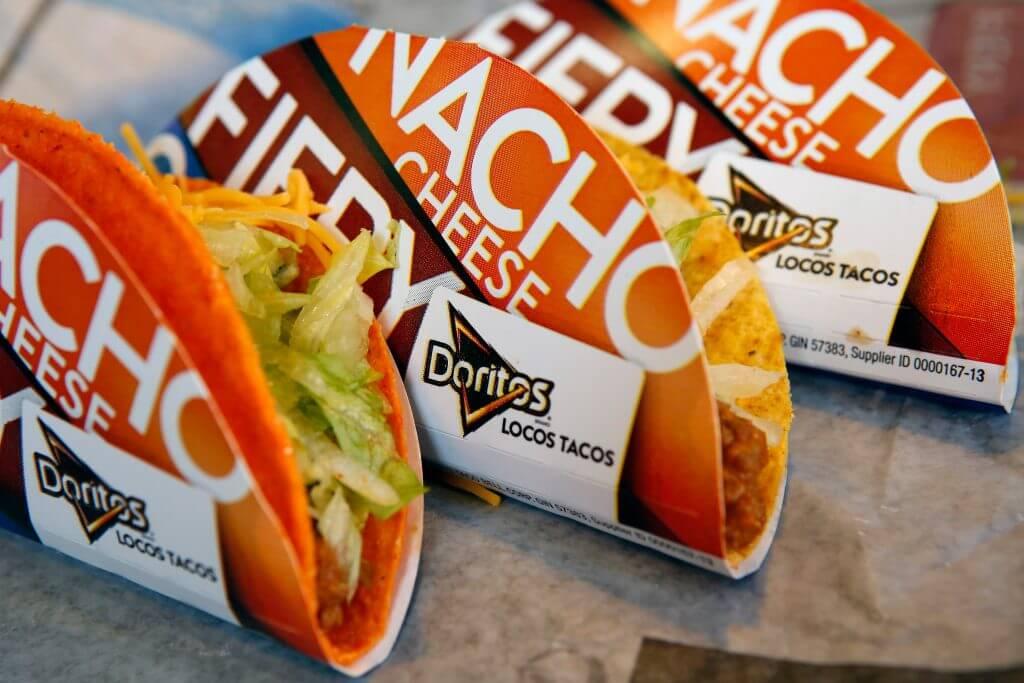 Best Fast Food Tacos | Doritos Locos Tacos | FastFoodMenuPrices.com