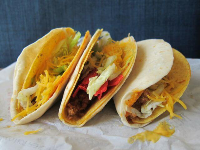 Best Fast Food Tacos | Taco Bell Double Decker Taco | FastFoodMenuPrices.com