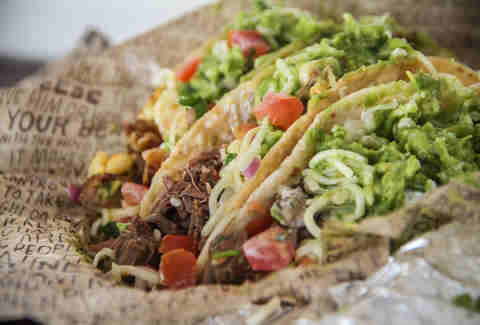 Best Fast Food Tacos | Chipotle Soft Taco | FastFoodMenuPrices.com