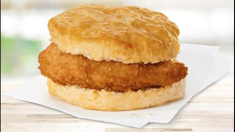 Chick-fil-A Breakfast Menu | Chicken biscuit | FastFoodMenuPrices.com