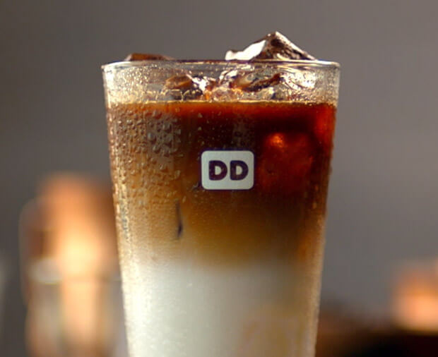 Best Fast Food Iced Coffee | Dunkin' Donuts Iced Coffee | Fastfoodmenuprices.com