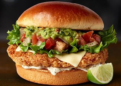 8 McDonald's Healthy Choices | Pico Guacamole Artisan Grilled Chicken Sandwich | FastFoodMenuPrices.com