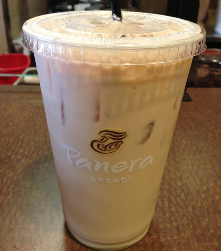 Best Fast Food Iced Coffee To Get You Through Summer | Panera Iced Coffee | FastFoodMenuPrices.com