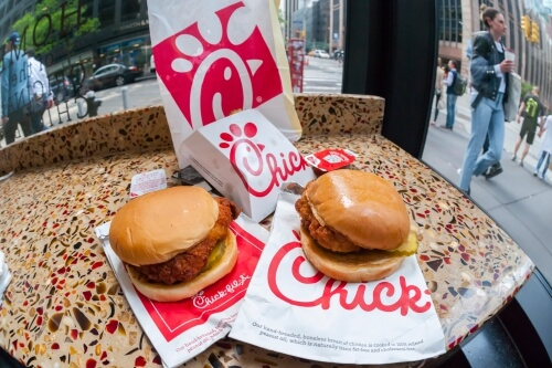 22 Restaurants Where You Can Score Free Fast Food | Chick Fil A| FastFoodMenuPrices.com