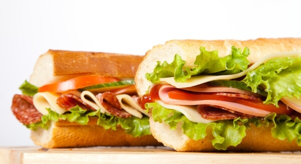 The Top 54 Fast Food Items in the Nation | Subway Italian BMT | FastFoodMenuPrices.com