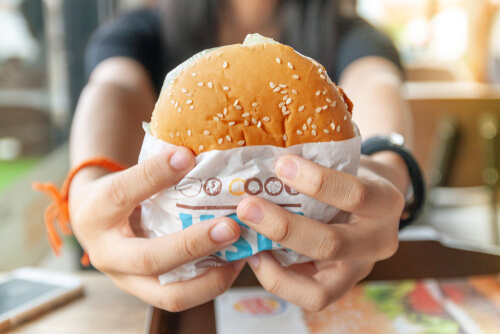 Burger King Bacon Cheeseburger