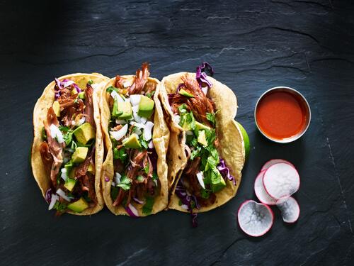 Del Taco Street Tacos