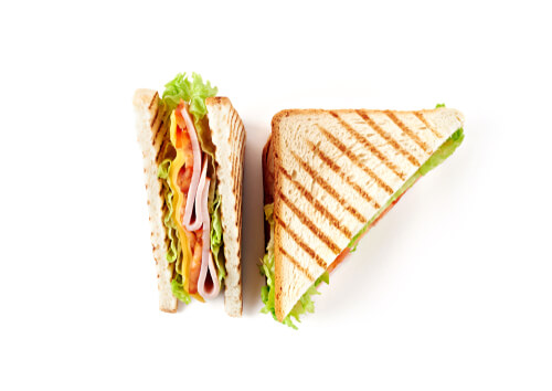 Panera Kids Turkey Sandwich