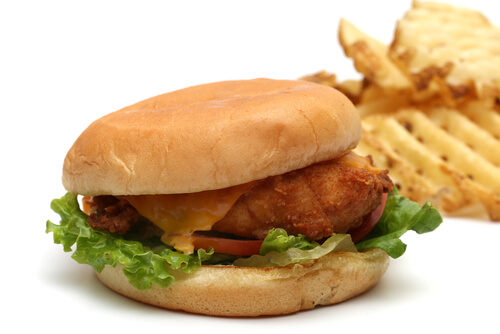 Check-Fil-A Chicken Sandwich