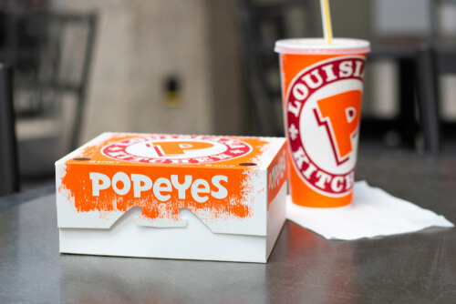 Popeyes Menu Prices