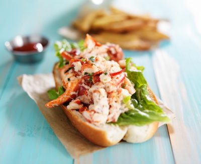 Captain D's North Atlantic Lobster Roll