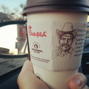 Chick Fil A Coffee