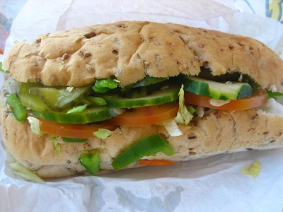 Subway Tuna Sub