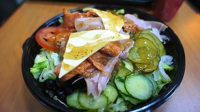 Subway BMT salad