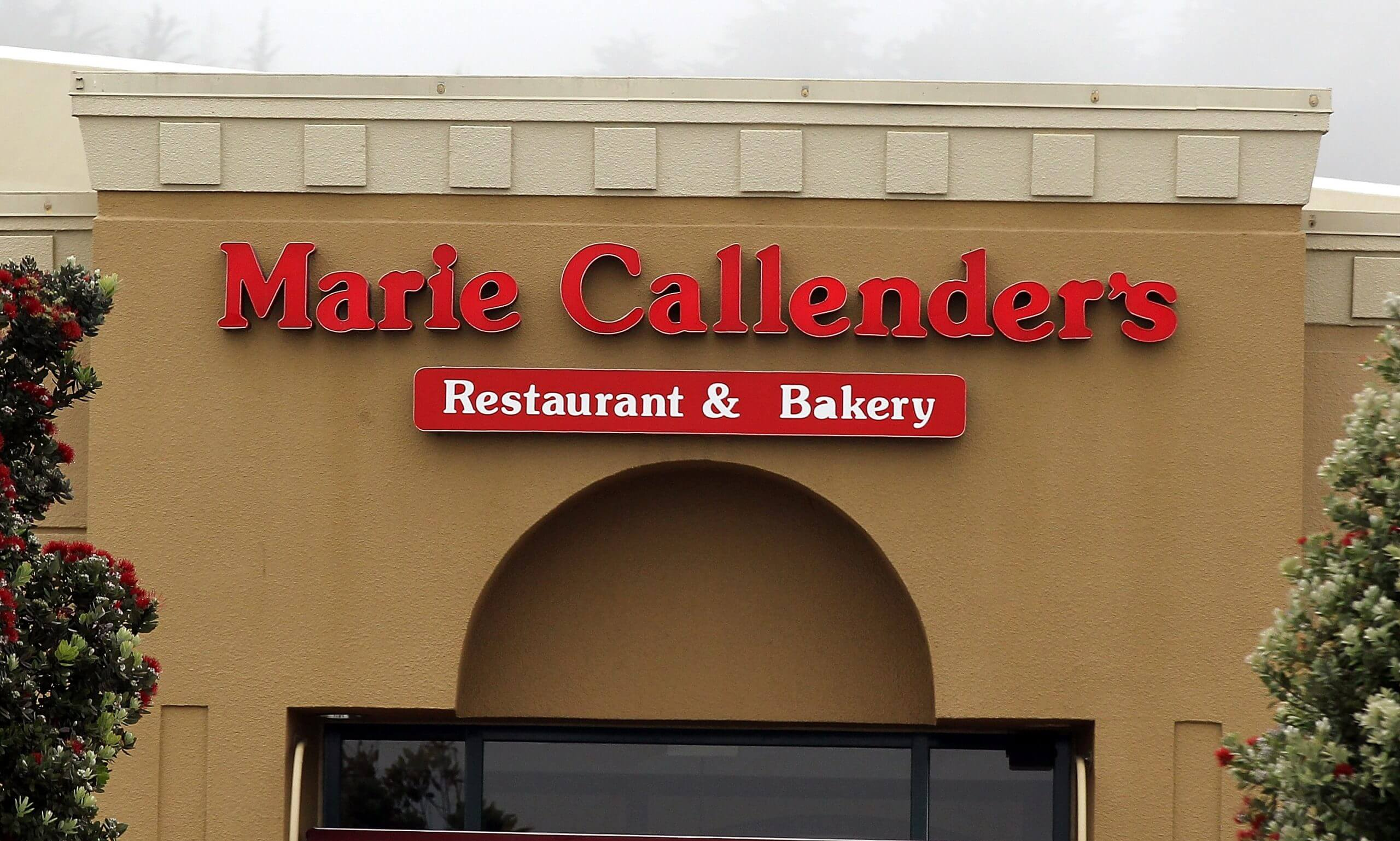 Marie Callendars open on thanksgiving