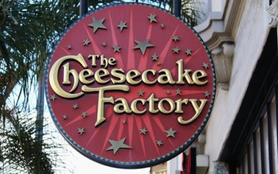 Cheesecake Factory Peppermint Bark Cheesecake is Back