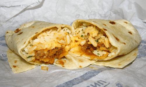 Taco Bell Beefy Fritos Burrito