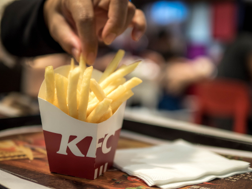 KFC Secret Recipe Fries Prices