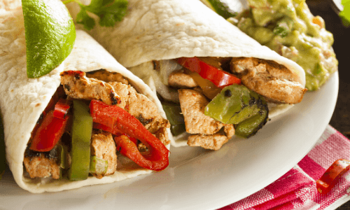 On the Border Chicken Fajita