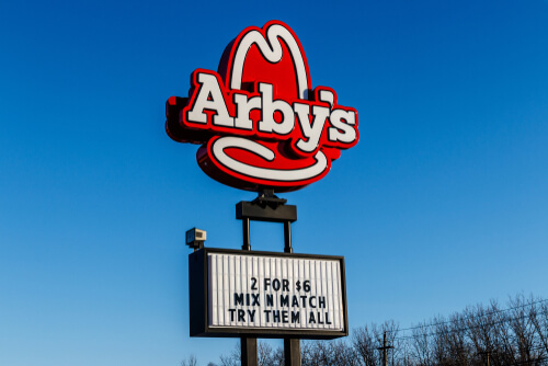 Arby's 2 for $6 Mix & Match Deal