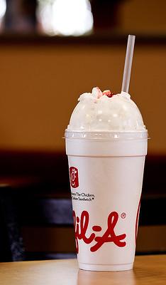 Chick Fil A Milkshake