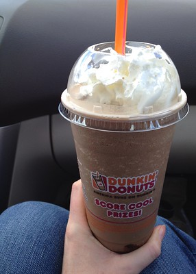 Dunkin Donuts Frozen Drink