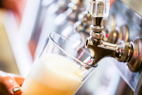 BJ's Brewhouse Draft Beer