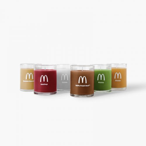 McDonald's Quarter Pounder Candles