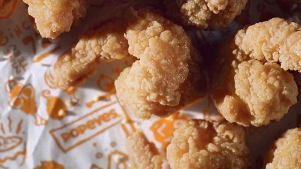 Popeyes Buttermilk Biscuit Shrimp