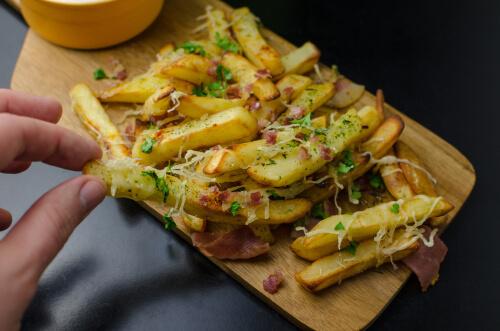 TGI Friday's Loaded Cheese Fries