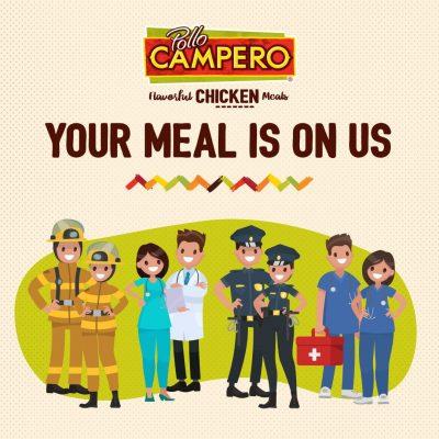 Pollo Campero Free Meals