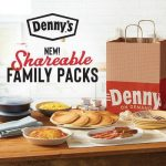 Denny's Welcomes Shareable Family Packs For Delivery And Carryout