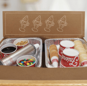 Friendly's Ice Cream Sundae Kit